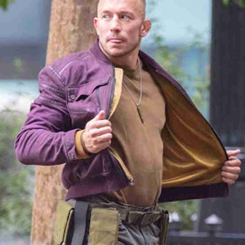 Batroc The Falcon and the Winter Soldier Purple Jacket