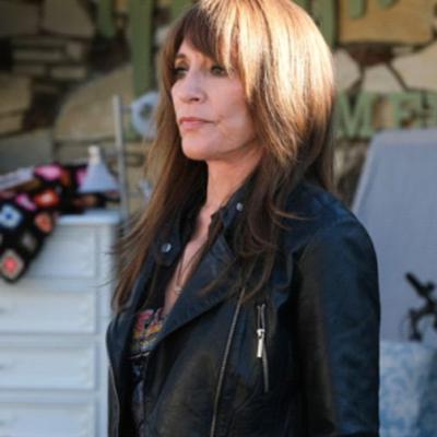 Rebel Katey Sagal Black Biker Jacket