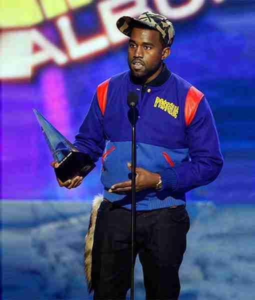 Kanye West Pastelle Varsity Jacket