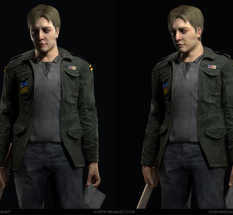 James Sunderland Video Game Silent Hill 2 Green Jacket