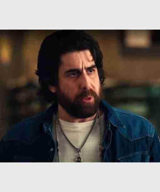 Harry Keshegian The Equalizer S02 Adam Goldberg Denim Jacket