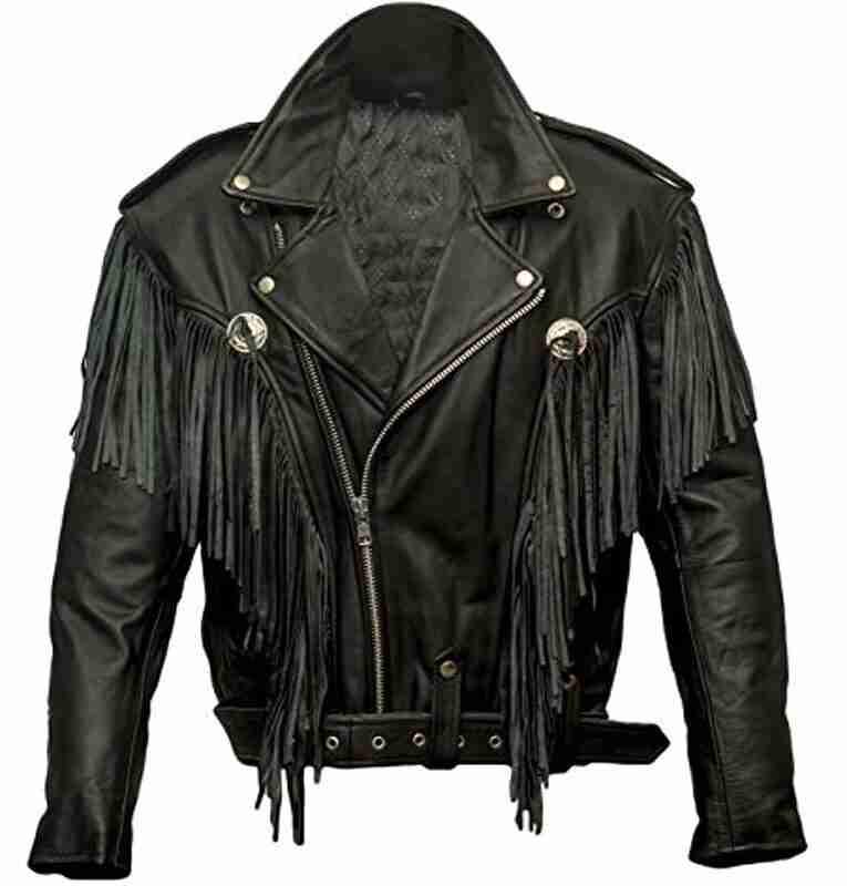 Money Heist Nairobi Alba Flores Fringe Motorcycle Leather Jacket