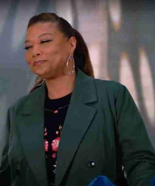 Queen Latifah The Equalizer Season 02 Robyn McCall Double-Breasted Coat