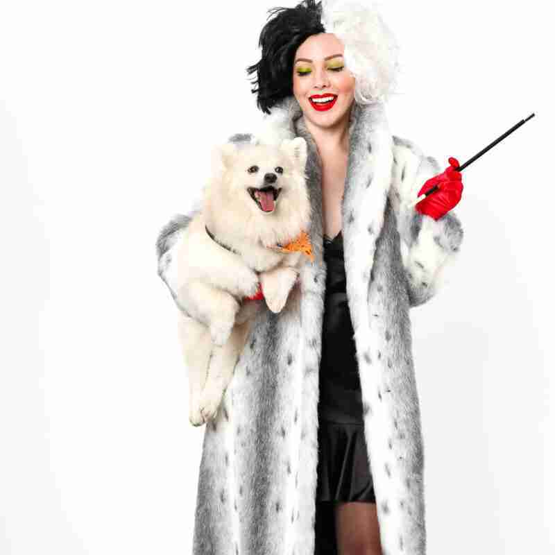 Cruella De Vil Costume From 101 Dalmatians