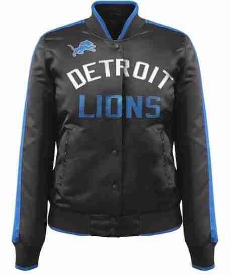Detroit Lions ShowTime Satin Jacket