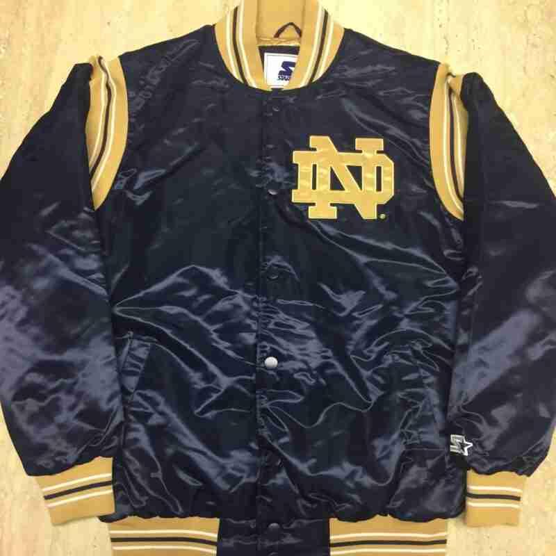 Notre Dame Fighting Irish Starter jacket - Navy