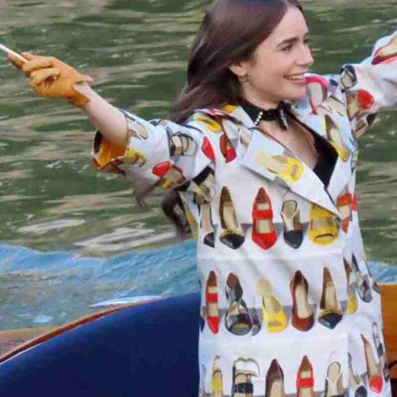 Emily In Paris Emily Trench Coat