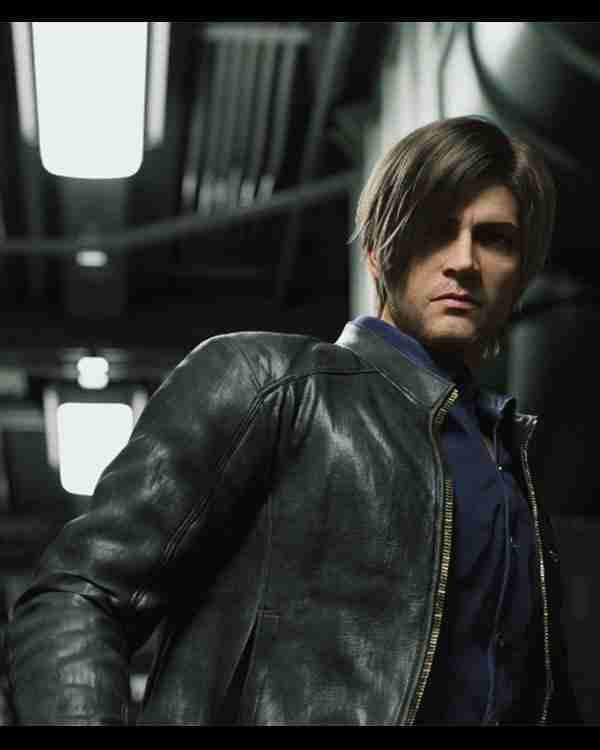 Leon S. Kennedy Resident Evil Infinite Darkness Leather Jacket