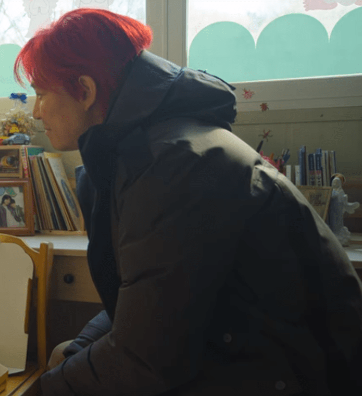 Squid Game Lee Jung-Jae Puffer Coat